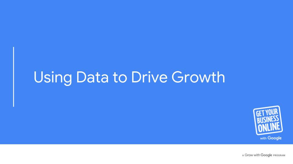 using data to drive growth