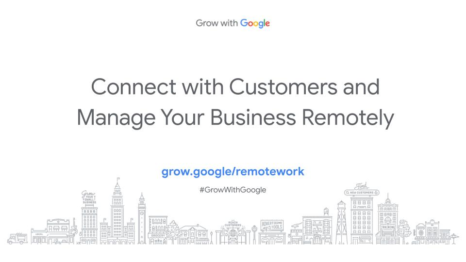 remote business webinar