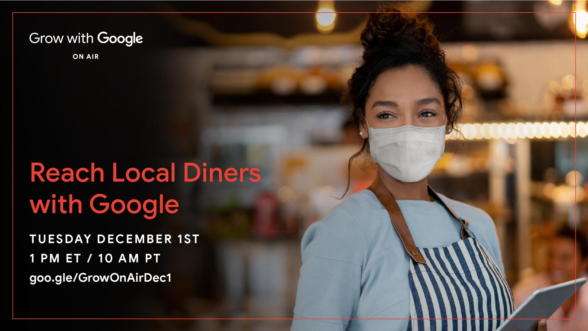 google for restaurants